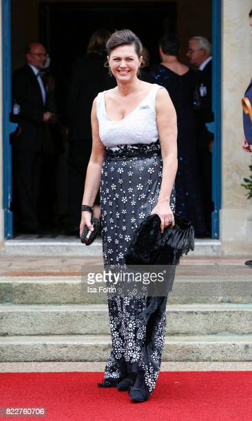 German politician Ilse Aigner attends the Bayreuth Festival 2017 Opening on July 25, 2017 in Bayreuth, Germany.