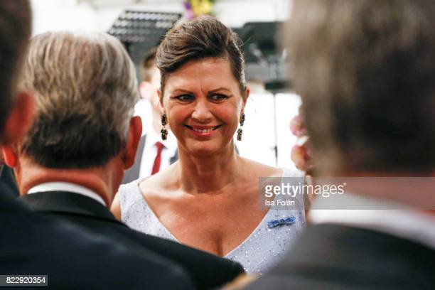 German politician Ilse Aigner during the Bayreuth Festival 2017 State Reception on July 25 2017 in Bayreuth Germany