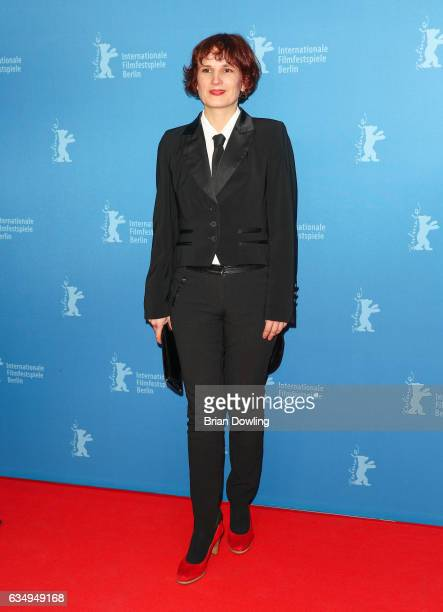 German politician Katja Kipping attends the 'The Young Karl Marx' premiere during the 67th Berlinale International Film Festival Berlin at...