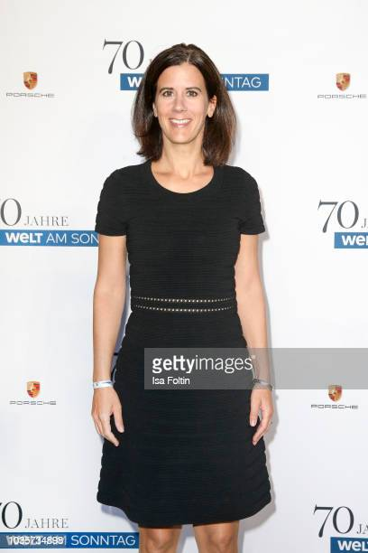 German politician Katja Suding during the 70th anniversary celebration of the German Sunday newspaper WELT AM SONNTAG at The Fontenay Hotel on...