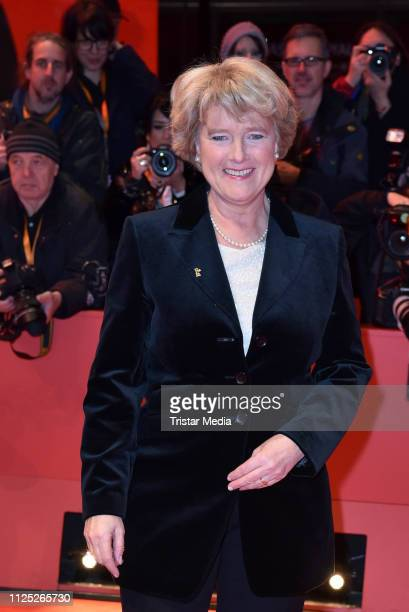 German politician Monika Gruetters arrives for the closing ceremony of the 69th Berlinale International Film Festival Berlin at Berlinale Palace on...