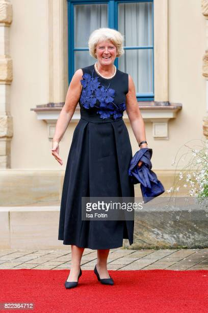 German politician Monika Gruetters attends the Bayreuth Festival 2017 Opening on July 25 2017 in Bayreuth Germany