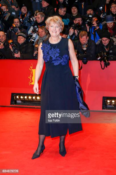 German politician Monika Gruetters attends the 'Django' premiere during the 67th Berlinale International Film Festival Berlin at Berlinale Palace on...
