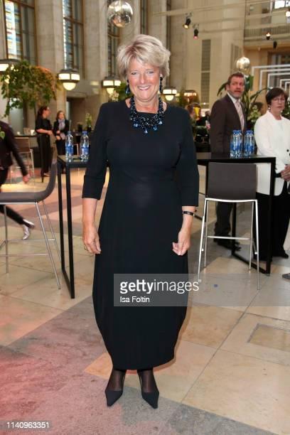 German politician Monika Gruetters attends the Lola - German Film Award reception at Palais am Funkturm on May 3, 2019 in Berlin, Germany.