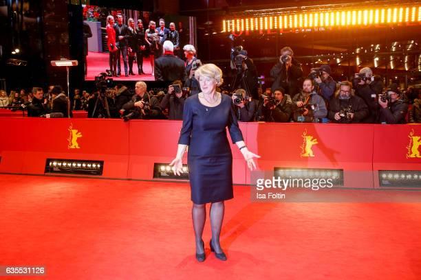 German politician Monika Gruetters attends the 'Return to Montauk' premiere during the 67th Berlinale International Film Festival Berlin at Berlinale...