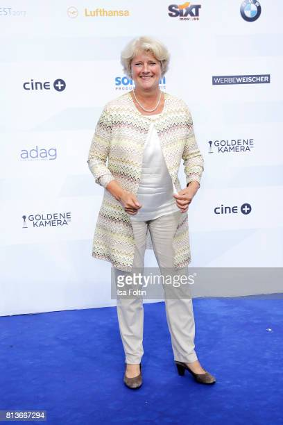 German politician Monika Gruetters attends the summer party 2017 of the German Producers Alliance on July 12 2017 in Berlin Germany