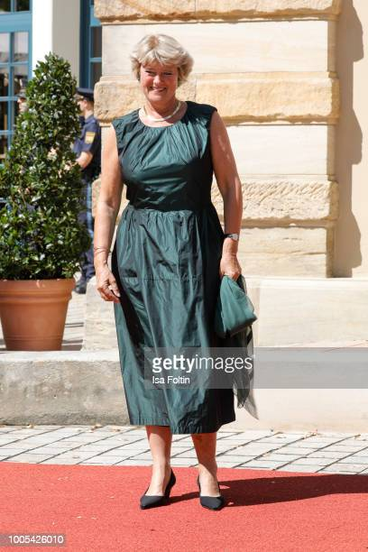 German politician Monika Gruetters during the opening ceremony of the Bayreuth Festival at Bayreuth Festspielhaus on July 25 2018 in Bayreuth Germany