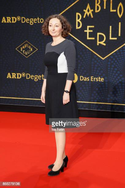 German politician Ramona Pop attends the 'Babylon Berlin' Premiere at Berlin Ensemble on September 28 2017 in Berlin Germany