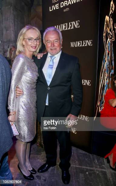 German politician Wolfgang Kubicki and his wife Annette MarberthKubicki during the Tribute To Bambi at Kraftwerk Mitte on October 18 2018 in Berlin...