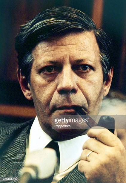 May 1974 Helmut Schmidt Chancellor of West Germany 19741982