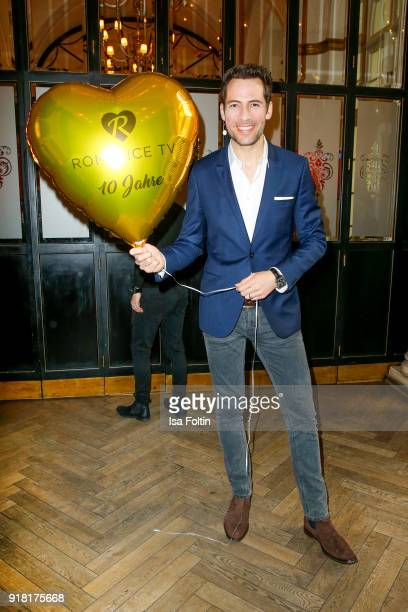 German presenter Alexander Mazza attends the Blaue Blume Awards 2018 at Grosz on February 14 2018 in Berlin Germany