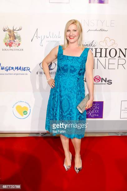 German presenter Alexandra Bechtel attends the Kempinski Fashion Dinner on May 23 2017 in Munich Germany