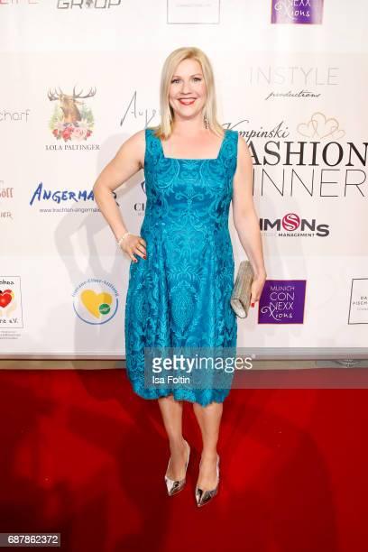 German presenter Alexandra Bechtel attends the Kempinski Fashion Dinner on May 23, 2017 in Munich, Germany.