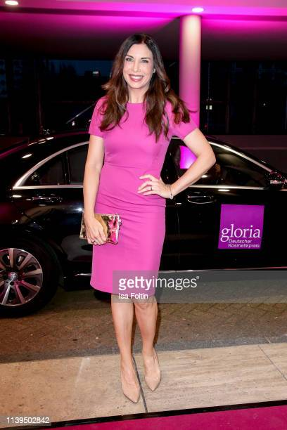 German presenter Alexandra Polzin attends the Gloria Deutscher Kosmetikpreis at Hilton Hotel on March 30 2019 in Duesseldorf Germany