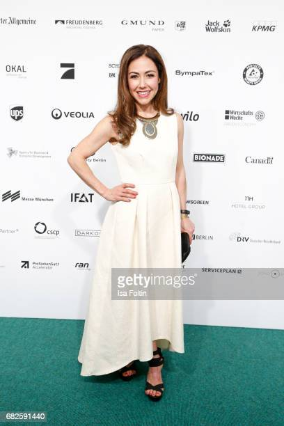German presenter Anastasia Zampounidis attends the GreenTec Awards at ewerk on May 12 2017 in Berlin Germany