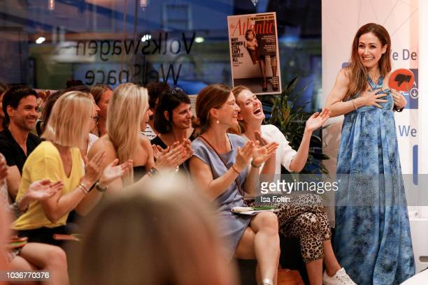 German presenter Volker Wieprecht during the discussion panel of Cliché Bashing 'I m perfect Take it easy Girl vs Multitasking Women' at DRIVE...