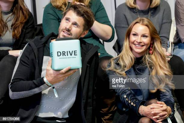 German presenter and actor Thore Schoelermann and his girlfriend German actress Jana Julia Kilka during the discussion panel of Clich'e Bashing...