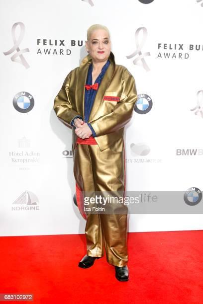 German presenter and comedian Hella von Sinnen attends the Felix Burda Award 2017 at Hotel Adlon on May 14, 2017 in Berlin, Germany.