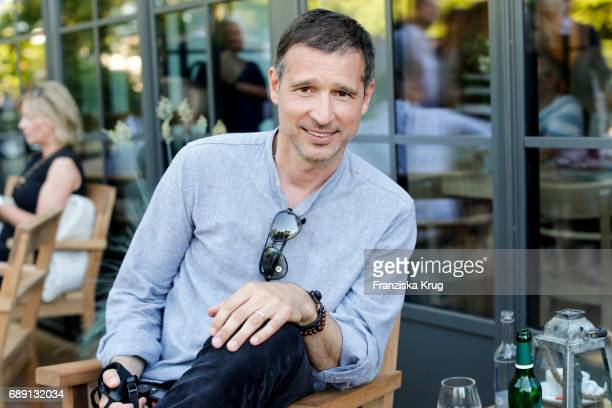 German presenter Andreas Tuerck during Til Schweiger's opening of his 'Barefoot Hotel' on May 28 2017 in Timmendorfer Strand Germany