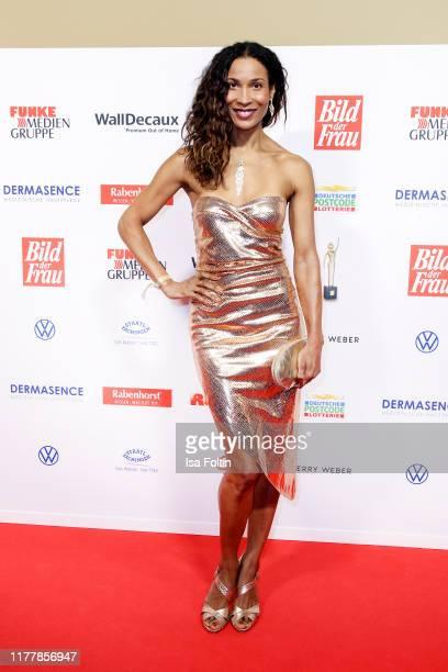 German presenter Annabelle Mandeng attends the annual Goldene Bild der Frau award on October 23 2019 in Hamburg Germany