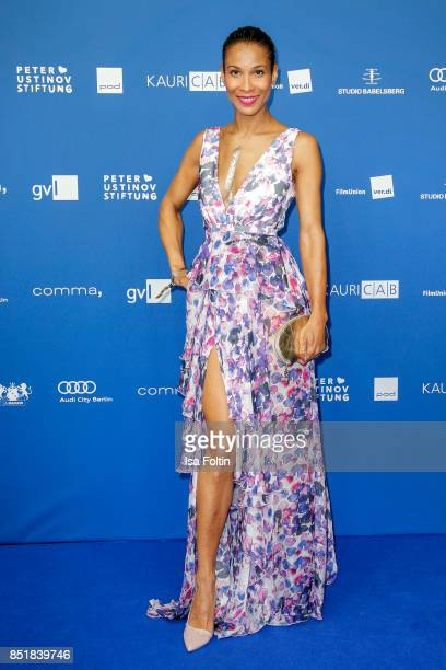 German presenter Annabelle Mandeng during the 6th German Actor Award Ceremony at Zoo Palast on September 22 2017 in Berlin Germany