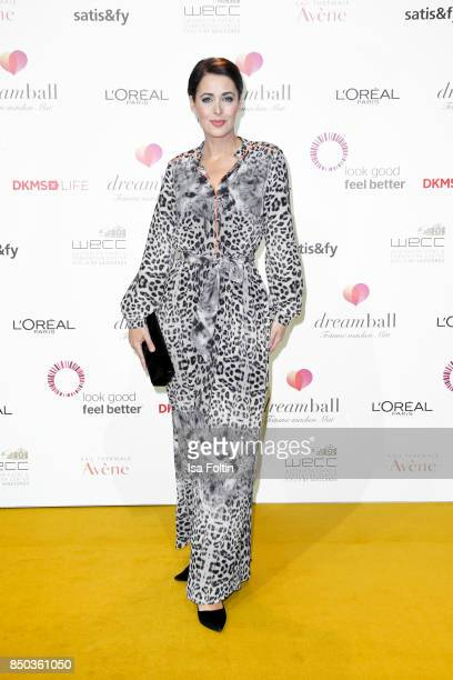 German presenter Annika de Buhr attends the Dreamball 2017 at Westhafen Event Convention Center on September 20 2017 in Berlin Germany