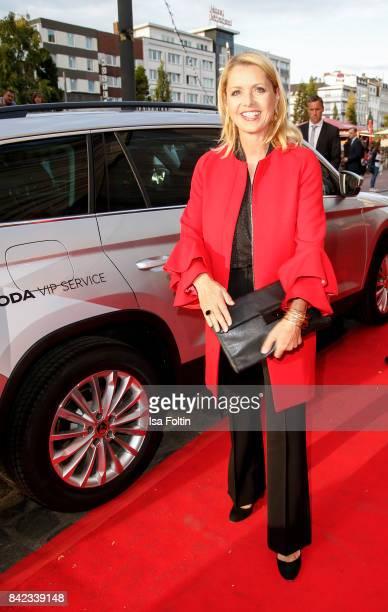 German presenter Astrid Frohloff attends the 'Nacht der Legenden' at Schmidts Tivoli on September 3 2017 in Hamburg Germany