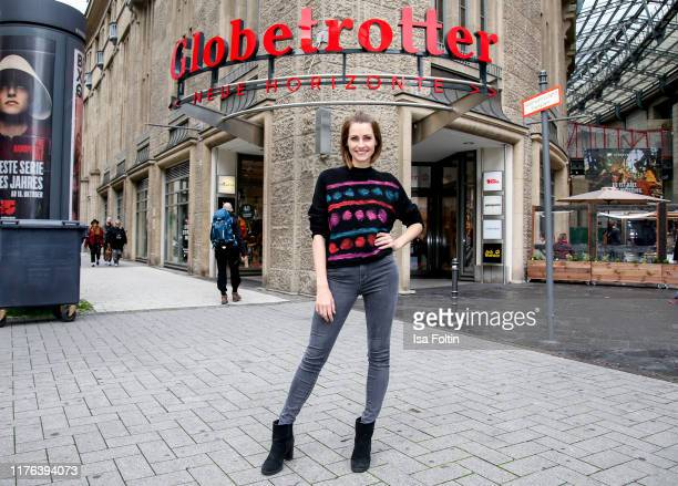 German presenter Bella Lesnik during the Globetrotter celebrates 40th Anniversary event on October 17 2019 in Cologne Germany