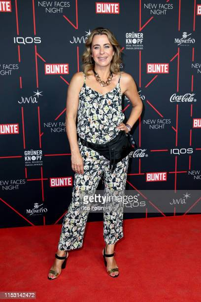 German presenter Bettina Cramer attends the Bunte New Faces Night at Father Graham on July 1 2019 in Berlin Germany