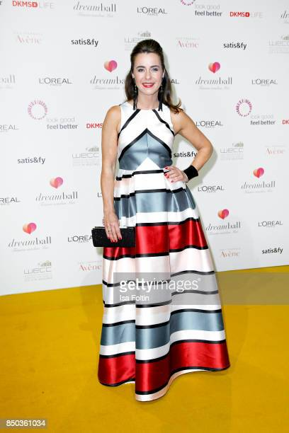 German presenter Bettina Cramer attends the Dreamball 2017 at Westhafen Event Convention Center on September 20 2017 in Berlin Germany