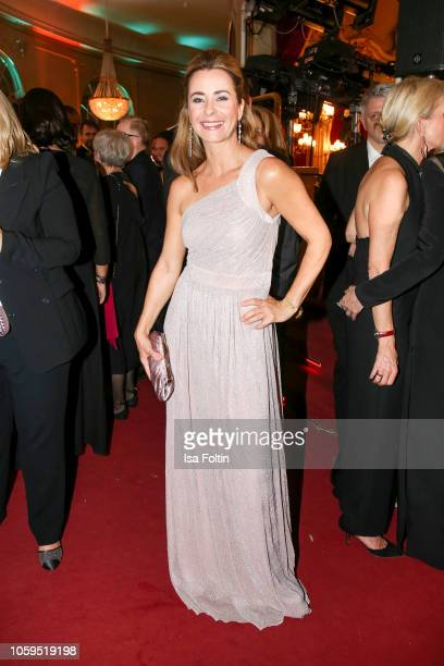 German presenter Bettina Cramer attends the GQ Men of the Year Award after show party at Komische Oper on November 8 2018 in Berlin Germany