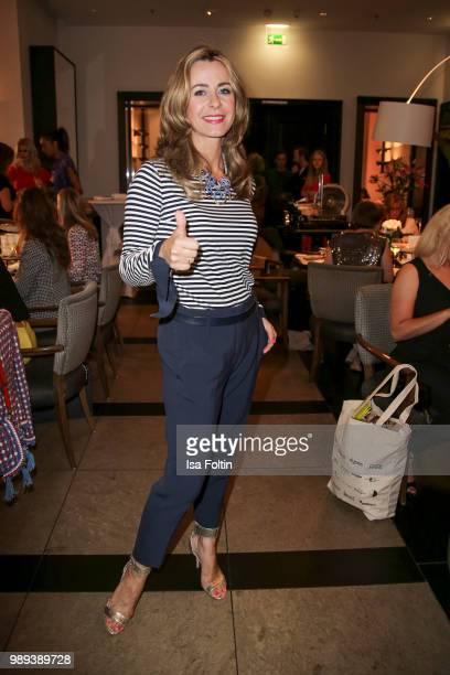 German presenter Bettina Cramer during the Ladies Dinner at Hotel De Rome on July 1 2018 in Berlin Germany