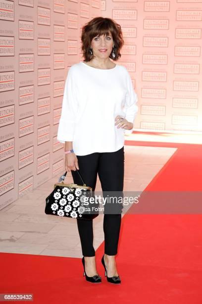 German presenter Birgit Schrowange during the German Media Award 2016 at Kongresshaus on May 25 2017 in BadenBaden Germany The German Media Award has...