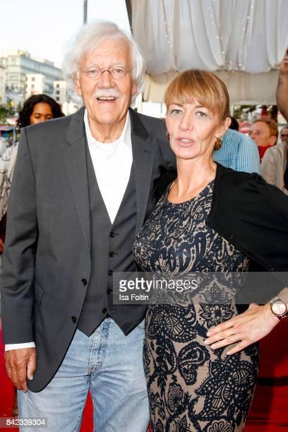 German presenter Carlo von Tiedemann and his wife Julia Laubrunn attend the 'Nacht der Legenden' at Schmidts Tivoli on September 3, 2017 in Hamburg,...