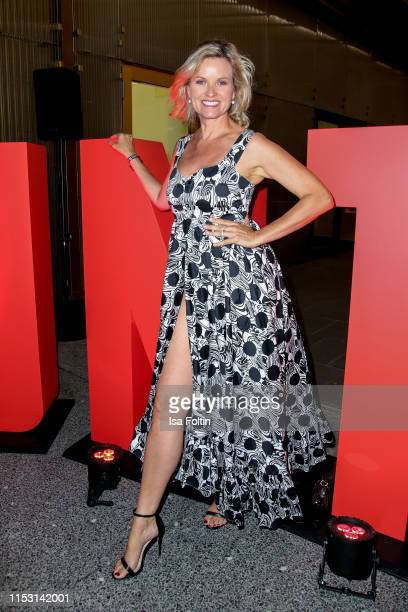 German presenter Carola Ferstl attends the Bunte New Faces Night at Father Graham on July 1 2019 in Berlin Germany