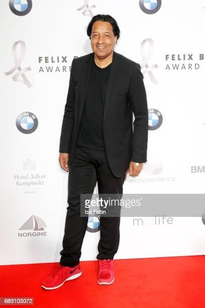 German presenter Cherno Jobatey attends the Felix Burda Award 2017 at Hotel Adlon on May 14, 2017 in Berlin, Germany.
