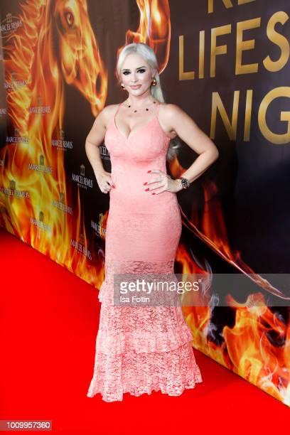 German presenter Daniela Katzenberger attends the Remus Lifestyle Night on August 2 2018 in Palma de Mallorca Spain