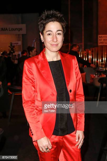 German presenter Dunja Hayali attend the aftershow party during during the 24th Opera Gala at Deutsche Oper Berlin on November 4 2017 in Berlin...