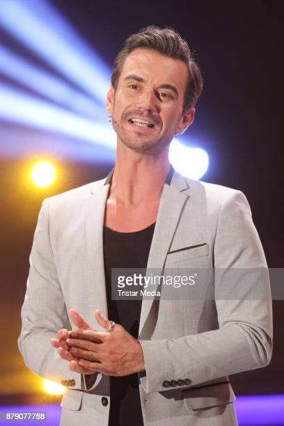 German presenter Florian Silbereisen during the TV Show 'Die Schlager des Jahres 2017' on November 25 2017 in Suhl Germany