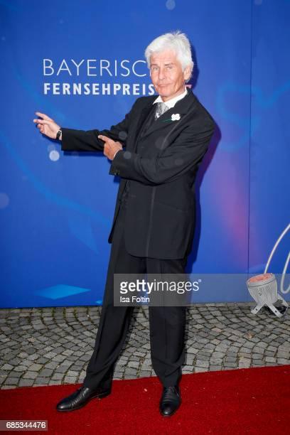 German presenter Frederic Meisner attends the Bayerischer Fernsehpreis 2017 at Prinzregententheater on May 19 2017 in Munich Germany