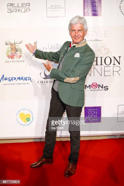 German presenter Frederic Meisner attends the Kempinski Fashion Dinner on May 23 2017 in Munich Germany