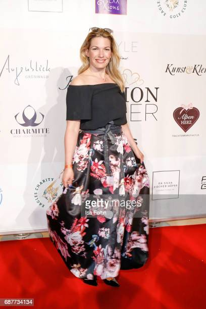 German presenter Jessica Kastrop attends the Kempinski Fashion Dinner on May 23 2017 in Munich Germany