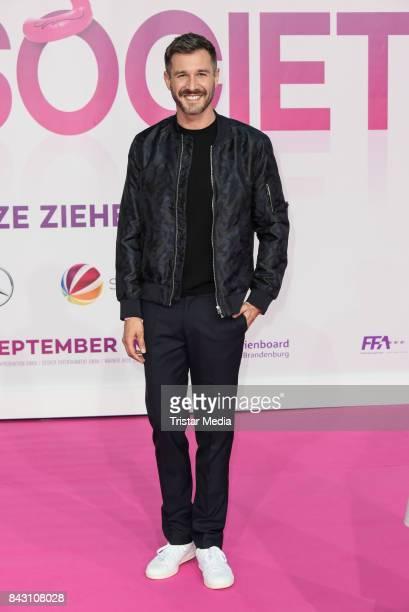 German presenter Jochen Schropp attends the 'High Society' Premiere at CineStar on September 5, 2017 in Berlin, Germany.