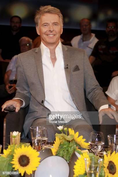 German presenter Joerg Pilawa during the 'Tietjen und Bommes' photo call on June 8 2018 in Hamburg Germany