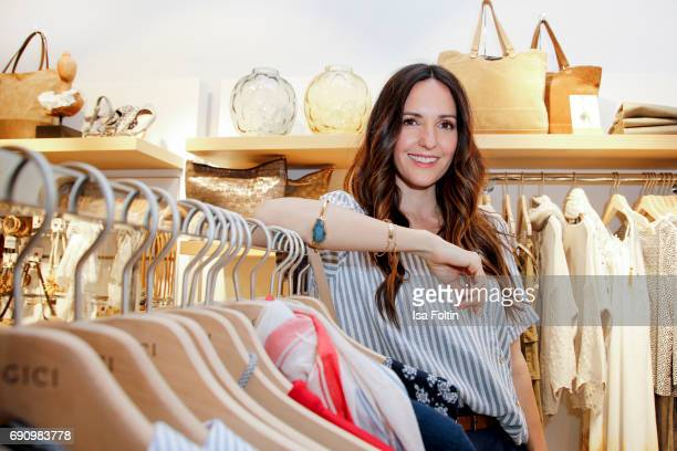 German presenter Johanna Klum attends the Yargici Flagship Store Opening at Levantehaus on May 31 2017 in Hamburg Germany