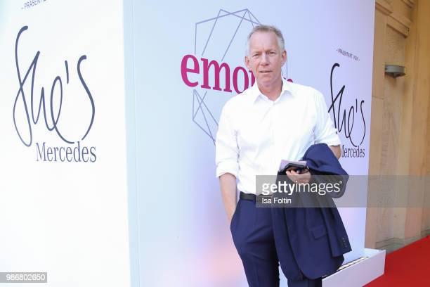 German presenter Johannes B Kerner during the Emotion Award at Curio Haus on June 28 2018 in Hamburg Germany
