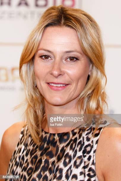 German presenter Julia Reschke attends the 'Deutscher Radiopreis' at Elbphilharmonie on September 7 2017 in Hamburg Germany