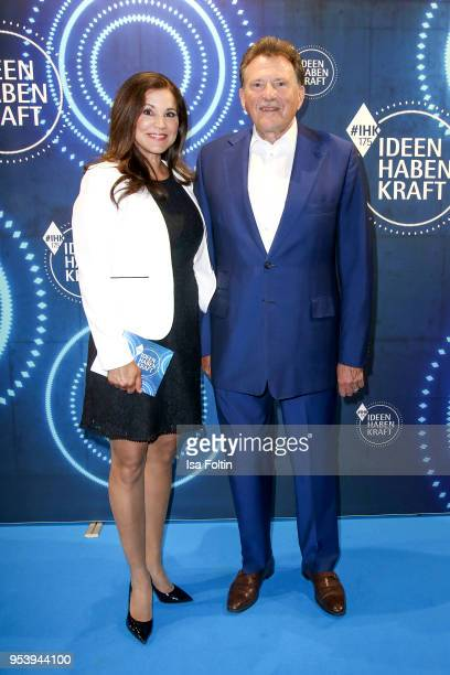 German presenter Karen Webb and Eberhard Sasse at the KickOffEvent of the talk series 'IDEEN HABEN KRAFT' on the occasion of the 175th anniversary of...