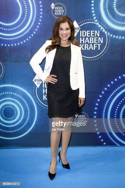 German presenter Karen Webb at the KickOffEvent of the talk series 'IDEEN HABEN KRAFT' on the occasion of the 175th anniversary of the IHK for Munich...