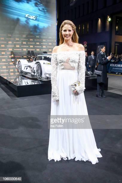 German presenter Mareile Hoeppner arrives for the 20th GQ Men of the Year Award at Komische Oper on November 8 2018 in Berlin Germany